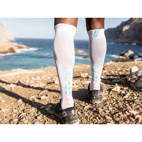 Compressport Race Oxygen Pohjepituiset sukat, white
